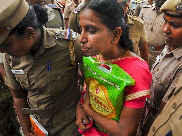 27 साल से जेल में बंद राजीव गांधी की हत्या की दोषी को मिली एक महीने की पेरोल