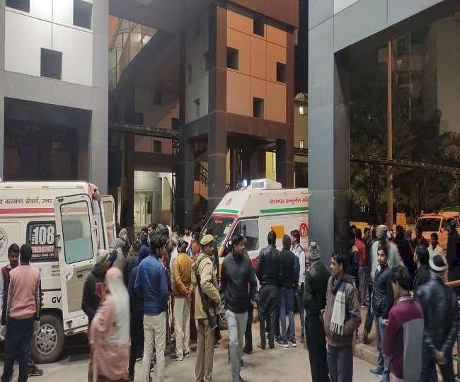 फिरोजाबाद में एक्सप्रेस-वे पर भीषण हादसा, ट्राला में घुसी स्लीपर बस, 14 लोगों की मौत