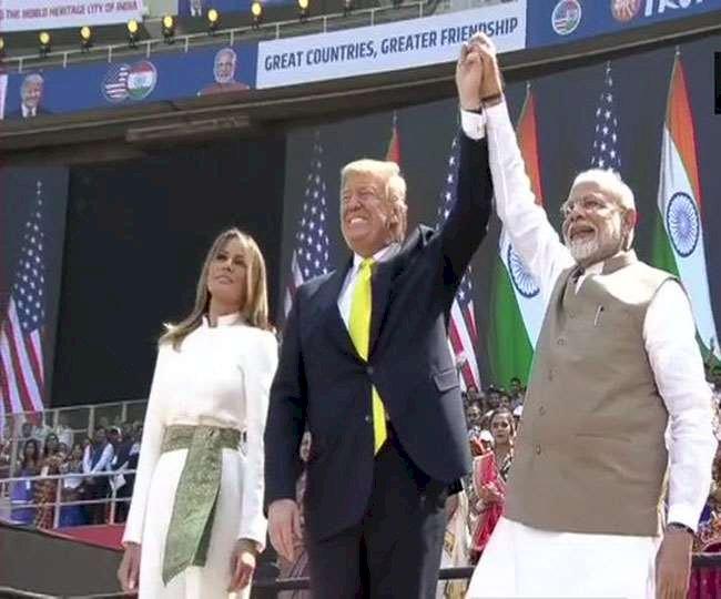 'नमस्ते ट्रंप' में US राष्ट्रपति ने किया पाकिस्तान का जिक्र, कहा- मेरी सरकार पाकिस्तान के साथ मिलकर कर रही है....